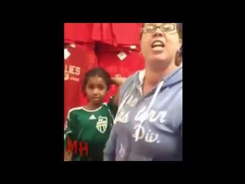 Child Abuse in Walmart Horrible Mother Caught on Camera