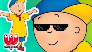 Caillou Cartoon For Kids | Caillou Treasure Map Hunt | Stop Motion Series | Toy Store - WildBrain