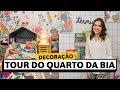 Tour pelo NOVO QUARTO da Bia | Lu Ferreira