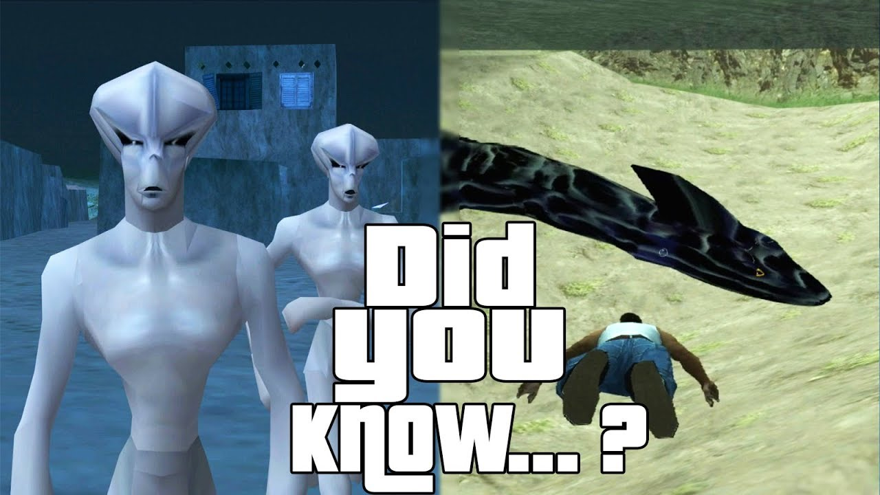 GTA San Andreas Secrets and Facts 4
