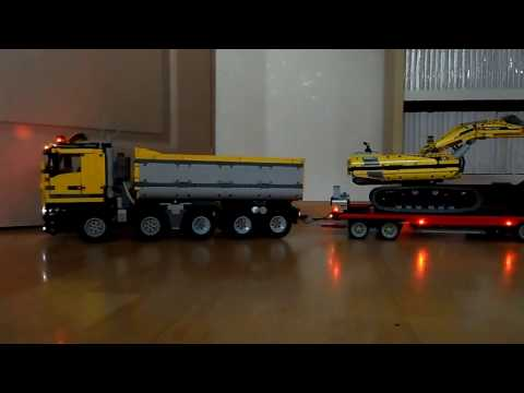 lego technic dump truck 10x4 full remote control how to save money and do it yourself. Black Bedroom Furniture Sets. Home Design Ideas