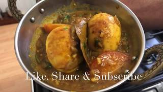 HOW TO COOK EGG CURRY! Protein! Nutritious! My Families Authentic Bangladeshi Recipe! DIM BHUNA!