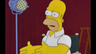 Homero Simpson Te Desea Feliz Cumpleaños