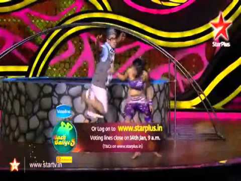 Saravi 3rd Performance 13th Jan'13 Nb5 ||second Hand Jawani*trampoling*|| video