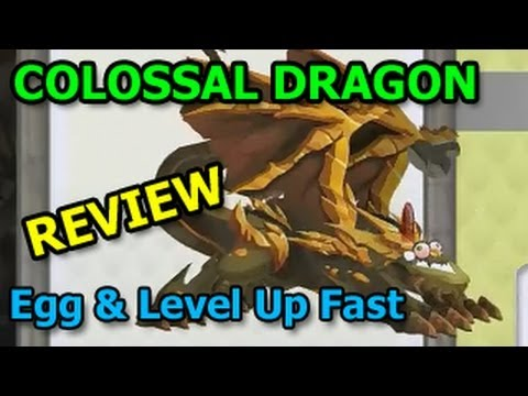 COLOSSAL DRAGON Dragon City Egg and Level Up Fast Review