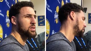 Klay Thompson HEATED After Finding Out He Didn't Make All-NBA