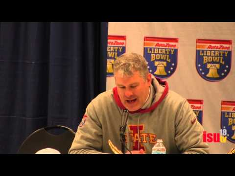 Paul Rhoads Liberty Bowl Reaction