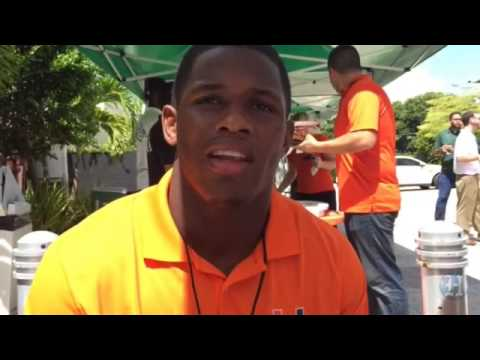 UM Hurricanes Football Media Day: Freshman S Jaquan Johnson