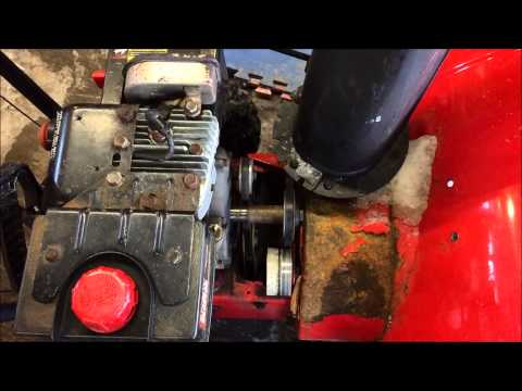 Snow Blower Auger Belt Replacement - Troy Built. MTD. Yard Machine