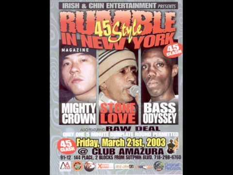 Mighty crown vs stone love vs bass odyssey 2003 pt4. - YouTube