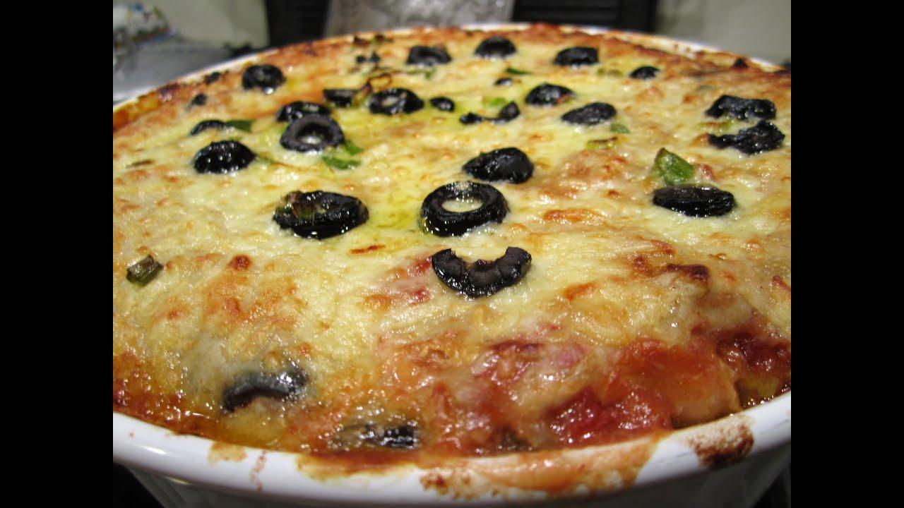 easy chicken enchilada casserole recipe - YouTube