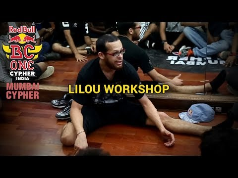 BBoy Lilou Workshop - Mumbai Cypher - Red Bull BC One India Cypher 2018