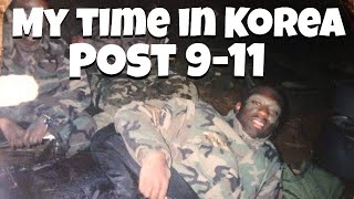 My time in Korea post 9-11