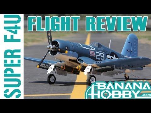 Super F4U Corsair BlitzRCWorks | Flight Review | Warbird & Military