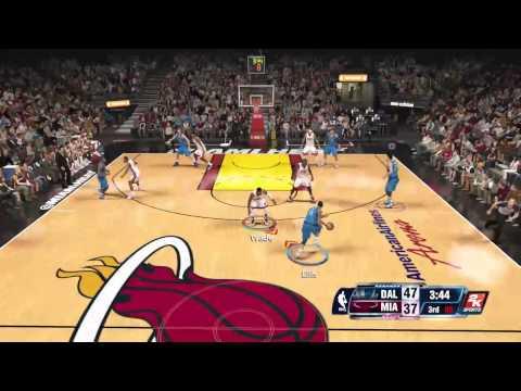 NBA 2k14 epic multiplayer game - Dallas Mavericks (Lexx) vs Miami Heat (DT3mono) - twitch broadcast