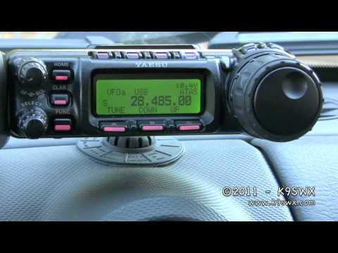 K9SWX - Mobile Ham Radio Setup