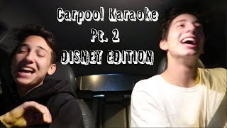 Carpool Karaoke Pt.2 *Disney Edition*