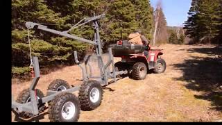 ATV Log Trailer part 1