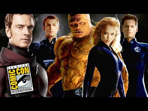 X Men Apocalypse & Fantastic Four Details From Simon Kinberg - Comic Con 2014