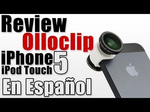 Olloclip   Lentes de fotografia para iPhone y iPod Touch Review En Español