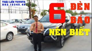 Tổng hợp 6 ĐÈN BÁO cơ bản trên xe Toyota nên biết rõ - Phần 2