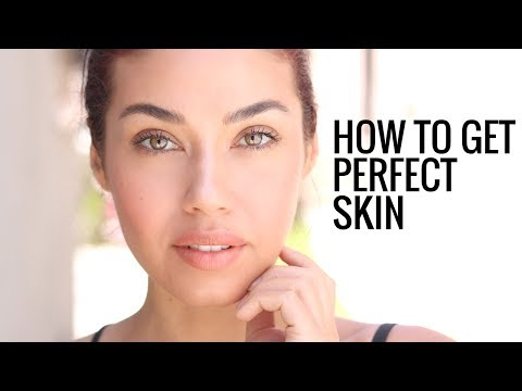 HOW TO HAVE  PERFECT SKIN   My Clear Skin Skincare Secrets!