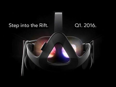 Oculus Rift - Step Into The Rift Reveal Trailer