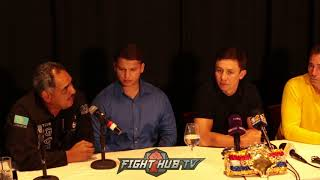 """GENNADY GOLOVKIN """"I LOST A LOT OF RESPECT FOR CANELO! TALKS NEGOTIATING FIGHT WITH CANELO"""