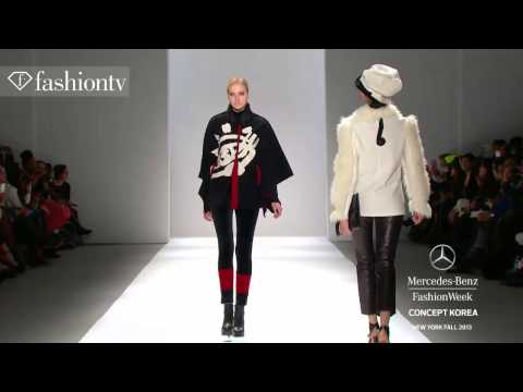 Concept Korea Fall/Winter 2013-14 [Part 1] | New York Fashion Week NYFW | FashionTV