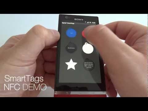 SONY XPERIA P - SmartTags DEMO NFC