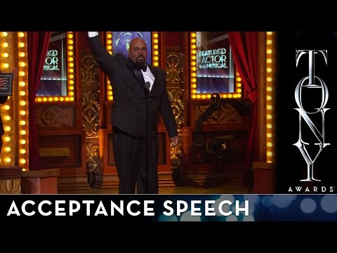 2014 Tony Awards: Acceptance Speech - James Monroe Iglehart