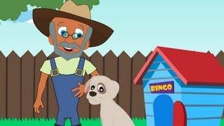 Bingo Song - There was a farmer had a dog  - Nursery Rhymes