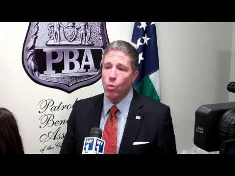 Pat Lynch on appointment of Bill Bratton as Police Commissioner