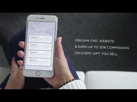 Join Origami Owl - work from home, from your phone, or on the go!