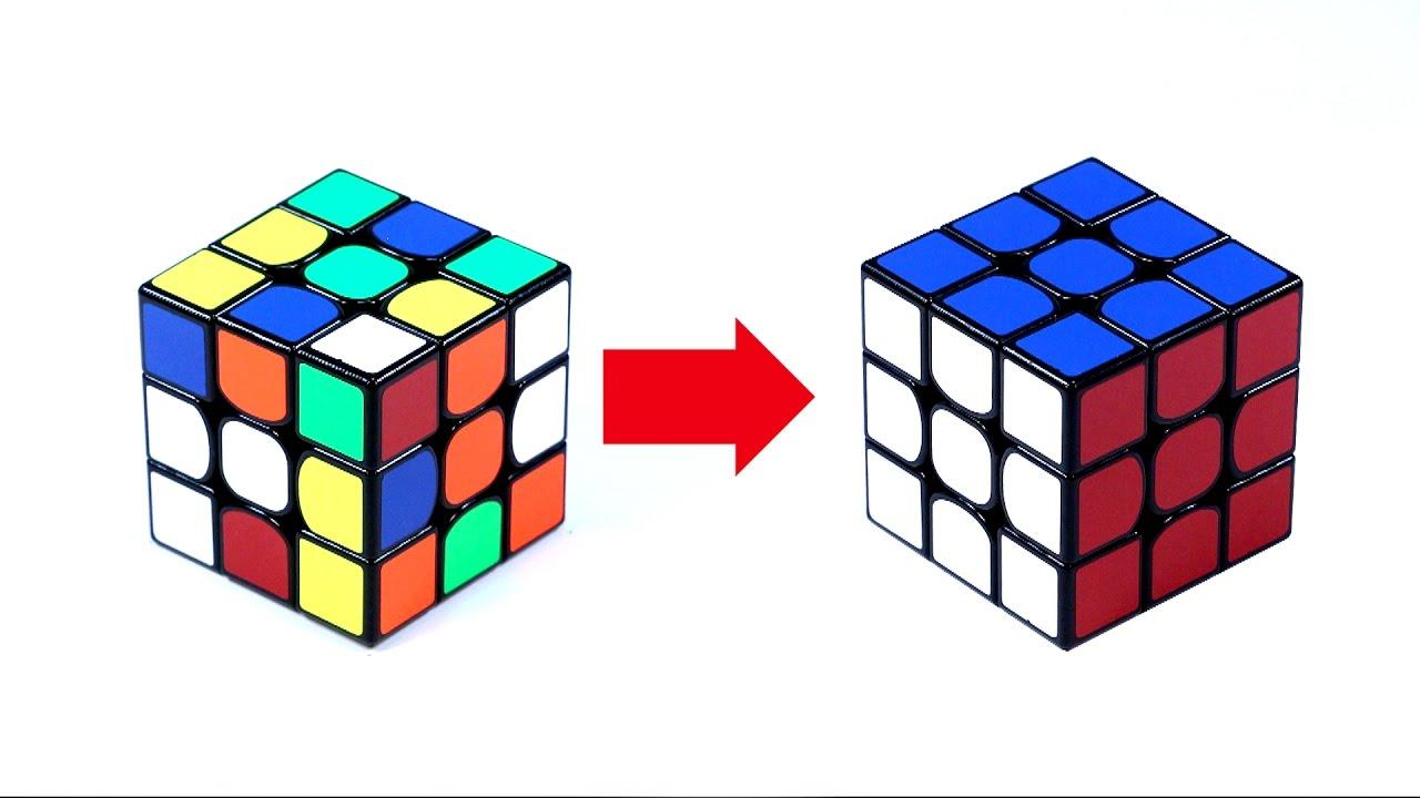 Как собрать кубик рубика сделай сам 300
