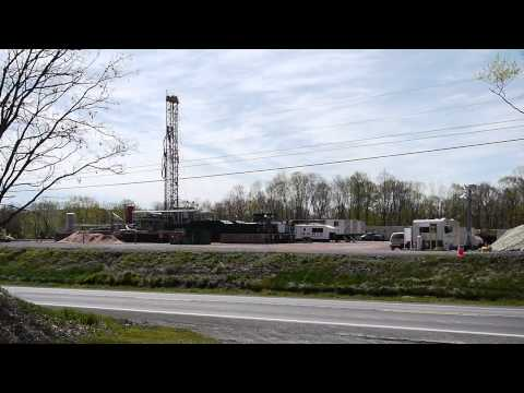 Benton, Sugarloaf Township, PA Gas Drilling Rigs