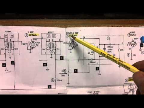 General Electric C-403A Radio Repair Exercises (part 9 of 14).