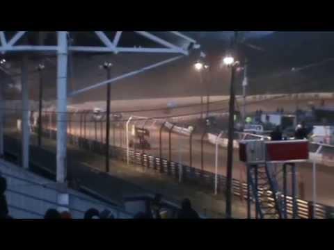 Selinsgrove Speedway 360 Sprint Car Highlights 04-04-15
