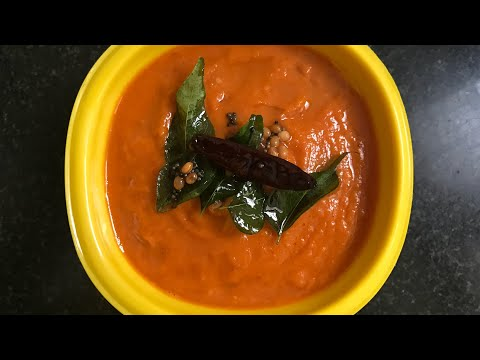 Quick Chutney | Onion Tomato Chutney Recipe | Instant side dish for Dosa Idli | Recipe for Bachelor