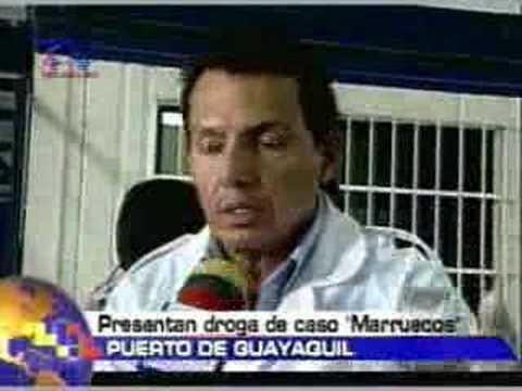 Presentan Droga del caso Marruecos
