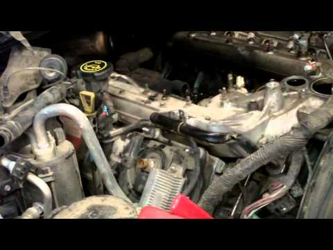 6.0 Liter Powerstroke - Turbo. Intake & Oil Cooler Removal