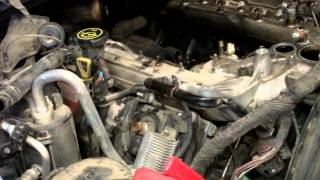 6.0 Liter Powerstroke - Turbo, Intake & Oil Cooler Removal