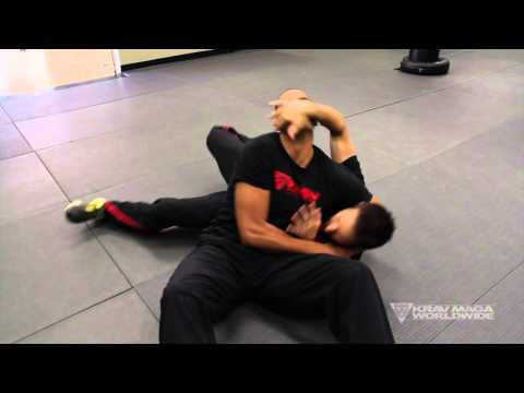 Krav Maga Training w/ AJ Draven of KMW - Headlock Defense on the Ground - Ep. 34 Image 1