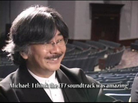 Nobuo Uematsu And Arnie Roth - Live Interview (part I Of Ii) video