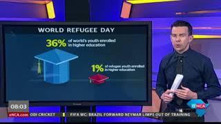 #WorldRefugeeDay - the shocking numbers