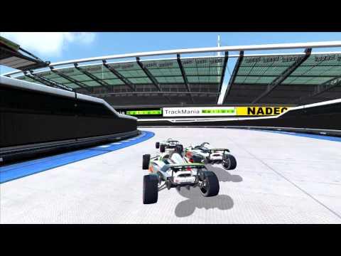 TrackMania HD test