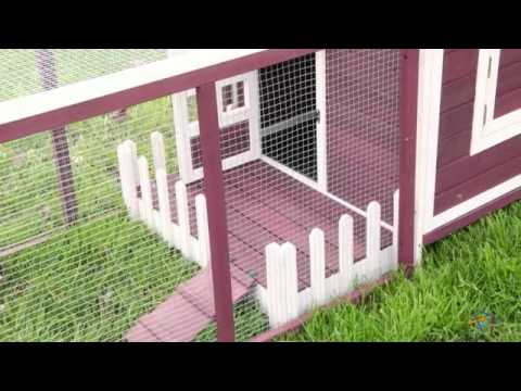 Boomer & George Prairie Barn Rabbit Hutch - Product Review Video