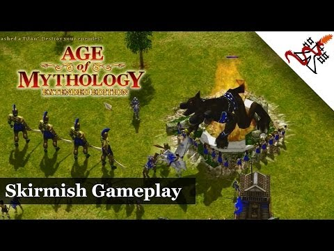 Age of Mythology: Extended Edition - Skirmish Gameplay | Greek Civilization [HD/1080p]