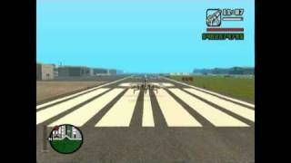 F16 Hornet Simultaneous Flying - GTA San Andreas