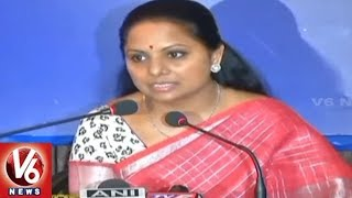 MP Kavitha Participates In IWPC Program In Delhi
